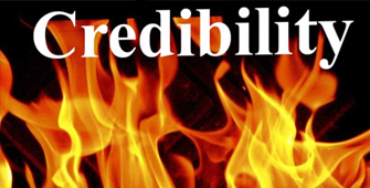 When Your Credibility Is Under Fire?